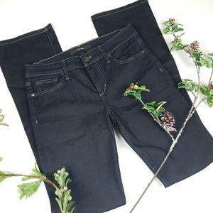 Joes jeans slim fit mini boot dark wash
